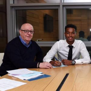 Joshua Grant is our first professional signing for Chelsea.